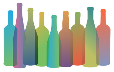 Wine Restaurant Catering Gastroservice Logo