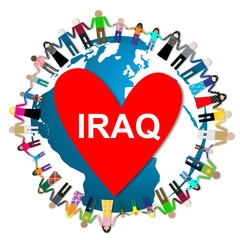 Humanitarian aid for Iraq