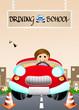 Постер, плакат: Driving school