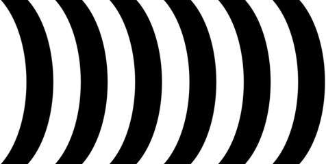 Schwarze und weiße Bögen als Hintergrund