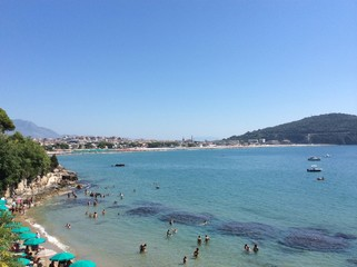Spiaggia di Fontania Gaeta