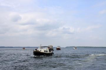 Boote auf Müritzsee