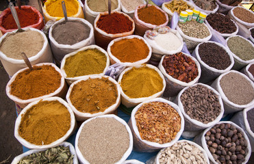spices,market