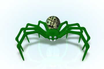 What's Up Money, Spider
