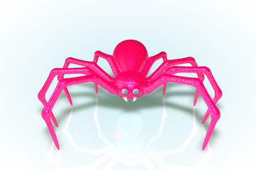 The Pink Scaled Spider