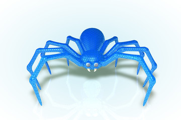 The Blue Scaled Spider