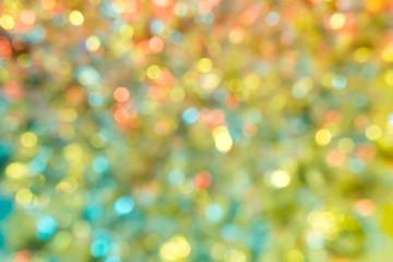 Multicolor Bokeh Background