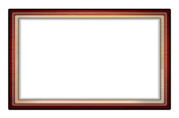 Wooden frame with space for your object or text