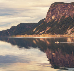 Fototapeta norwegia góry