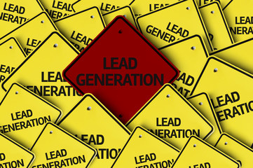 Lead Generation written on multiple road sign