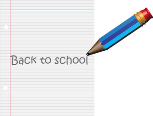 Pencil Back to School