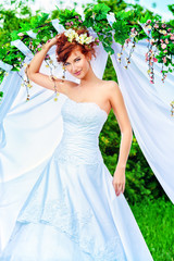 redhaired bride