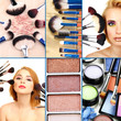 Make-up collage