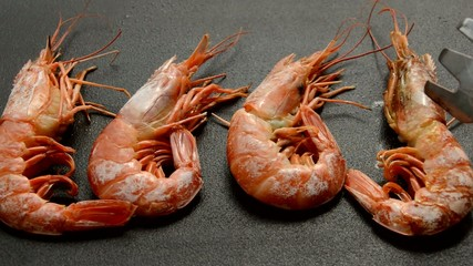 Shrimps Turned Over