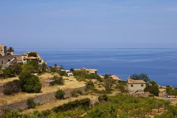 Banyalbufar, Dorf, Mallorca, Spanien