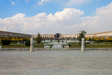Imam square in Isfahan, Iran