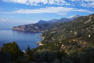 Berg-Küstenlandschaft, Mallorca, Spanien