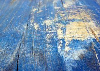 Blauer Holzhintergrund shabby
