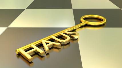 Haus Schlüssel - Konzept Sicherheit