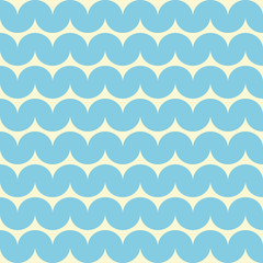 Ocean water with waves. Seamless background.