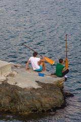 Giro in canoa al porto