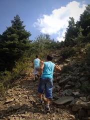 genç dağcılar