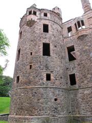 Huntly Castle, Aberdeenshire,Scotland uk