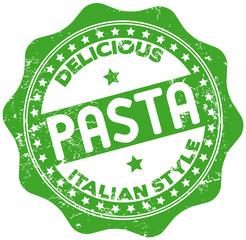 italian pasta stamp