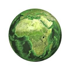 Earth. Africa.