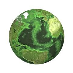 Earth. Atlantic ocean.