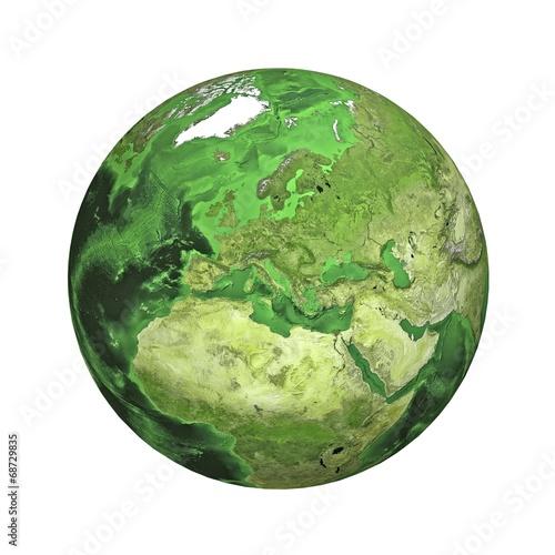 Leinwandbild Motiv Earth. Europe