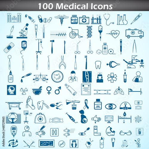 Medical icon set - 68729865