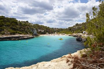Cala Llombards, Blick zum Strand