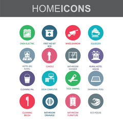 Home , Furniture , House Things - Vector.