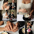 Wedding. Just Married. Collection. Coffee