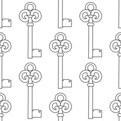 Seamless keys  pattern