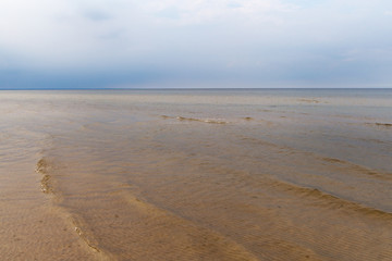 Still Baltic sea.