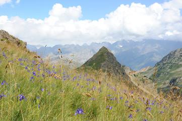 Pyrénées , Espagne, retour du lac d'Anayet