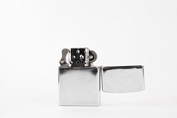 Lighter with white background