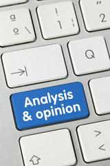 Analysis & opinion. Keyboard
