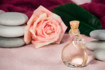 Rose attar spa perfumery