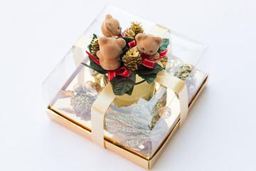 Three Little Bears Golden Christmas Present