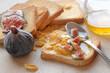 canvas print picture - colazione