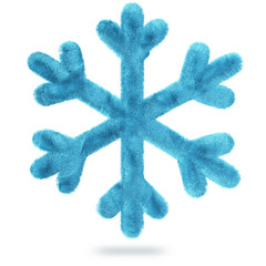 fluffy snowflake