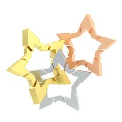 Three star composition