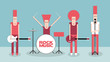 Rock band - 68734691