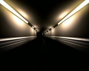 скоростной  тоннель