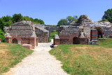 Roman archaeological site, Felix Romuliana, Serbia. poster