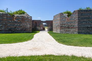 Roman archaeological site, Felix Romuliana, Serbia.