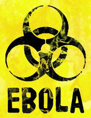 Ebola Symbol Schild